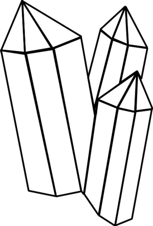 Gemstone Coloring Sheet Pages Sketch Coloring Page